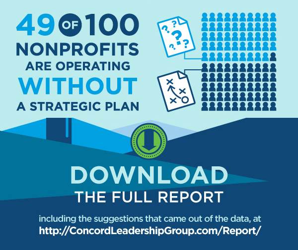 CLG Nonprofit Sector Leadership Report - 49% without a plan