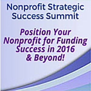 2016 Nonprofit Success Summit