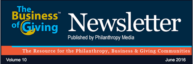 Business of Giving Philanthropy News