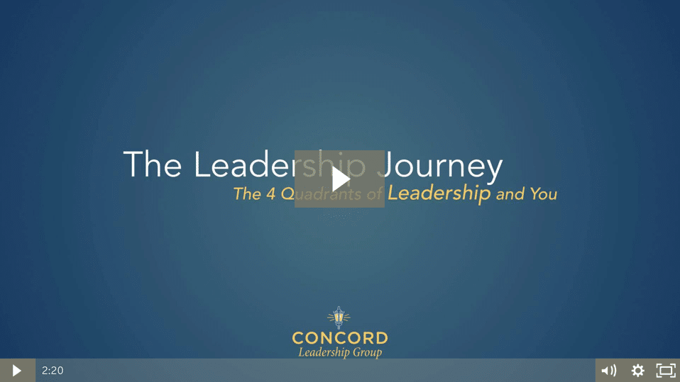 Where are you on the journey to becoming a focused leader?