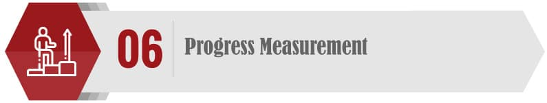 Consider how to measure progress when choosing a consultant.