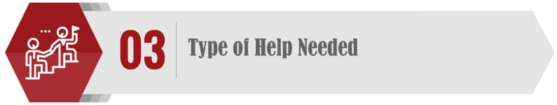 Consider what kind of help you want when choosing a consultant.