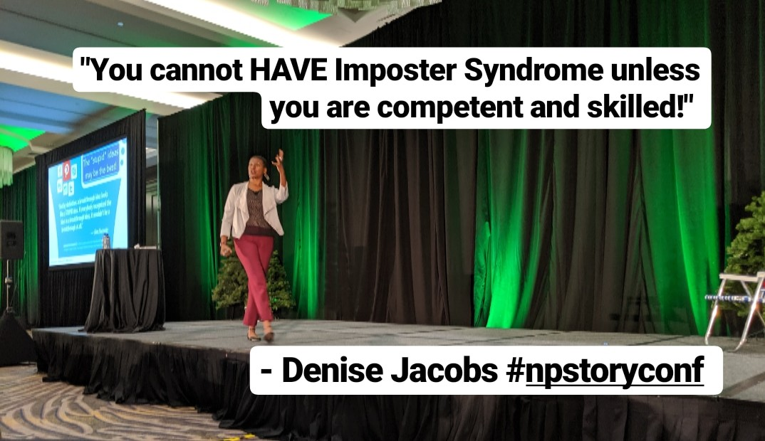 Denise Jacobs at the Nonprofit Storytelling Conference