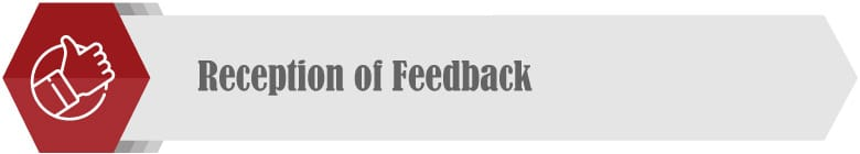 Be receptive to feedback to improve employee communication.