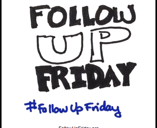 Is it insensitive to follow up? #followupfriday