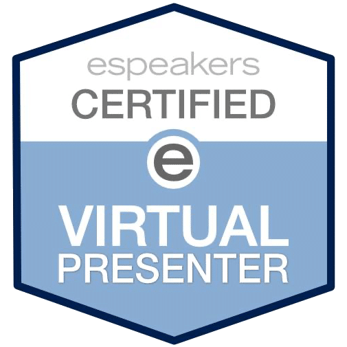 espeakers Certified e Virtual Presenter