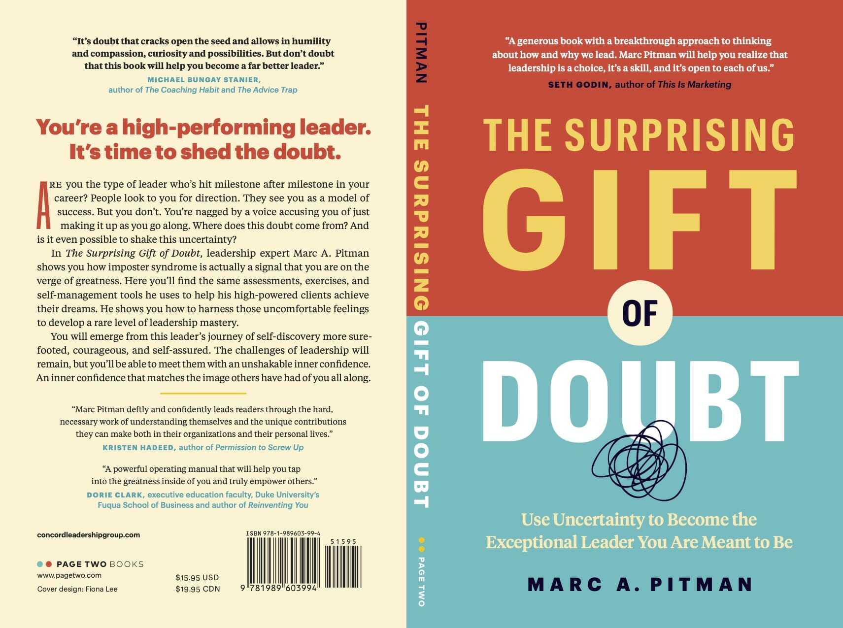 Surprising Gift of Doubt book cover for press