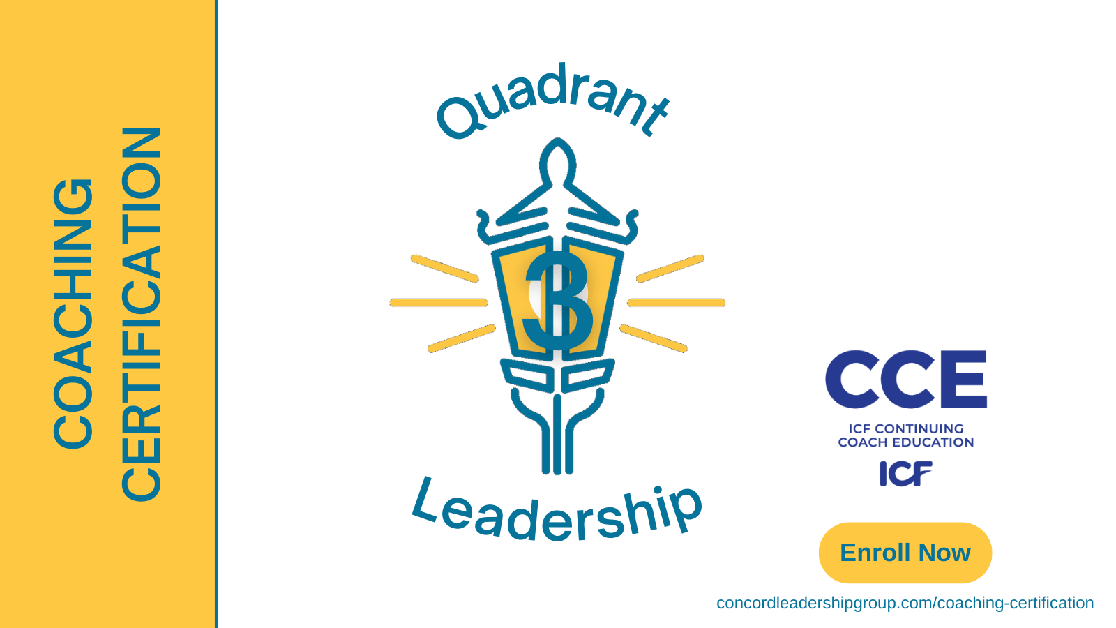 Become a certified coach - Quadrant 3 Leadership Coaching Certification ICF CCE credits